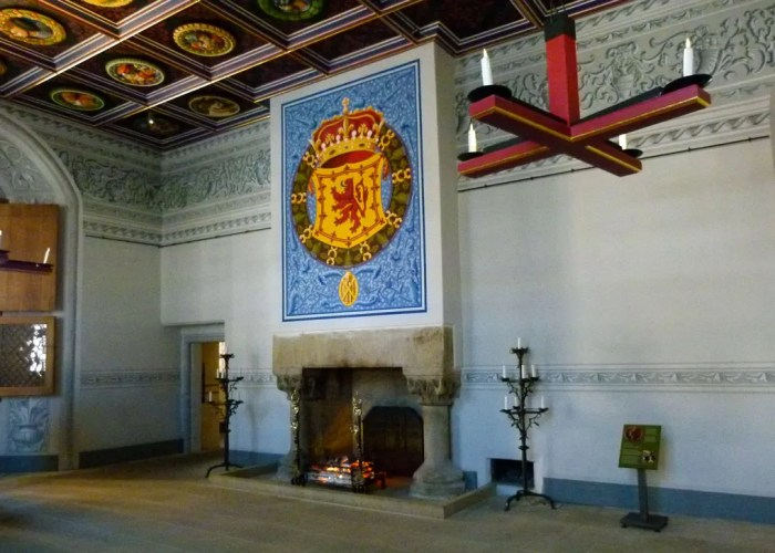 Stirling Castle, Palace, King's Inner Hall