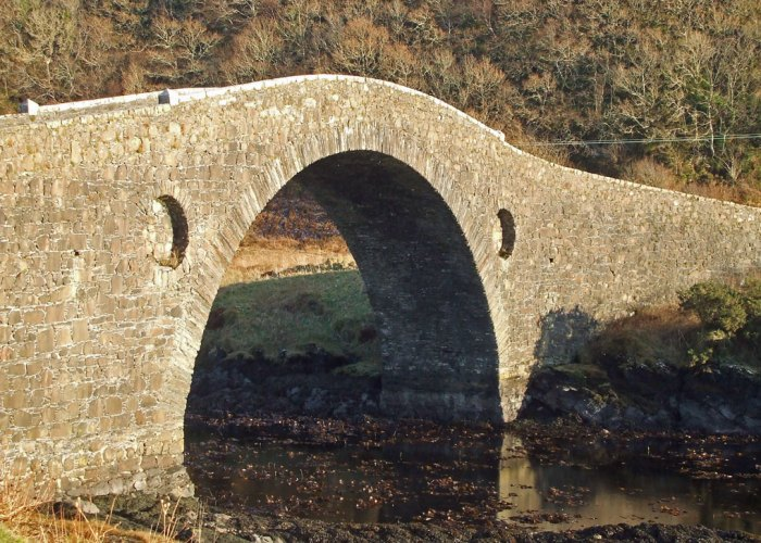 Atlantic Bridge, Bridge over the Atlantic, Clachan Bridge, Seil, Argyll