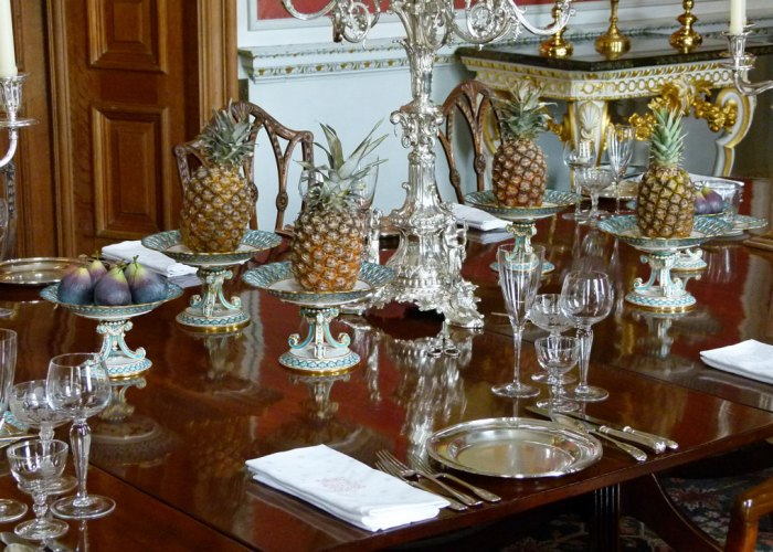 Castle Howard, dining room