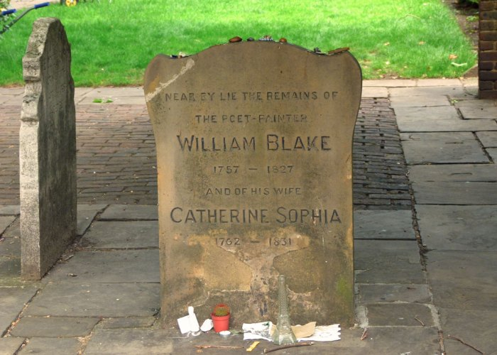 Bunhill, William Blake, Catherine Blake, London