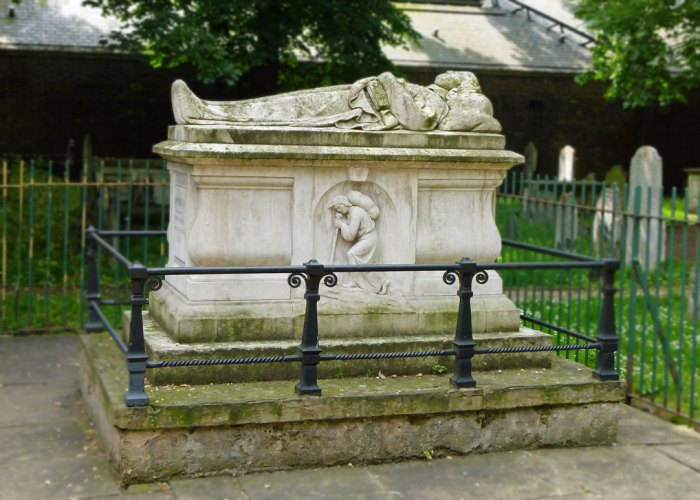 John Bunyan, Bunhill, buried, London