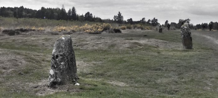 Culloden, grave markers, mass graves