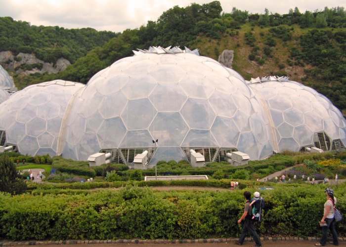 The Eden Project, Cornwall, south west