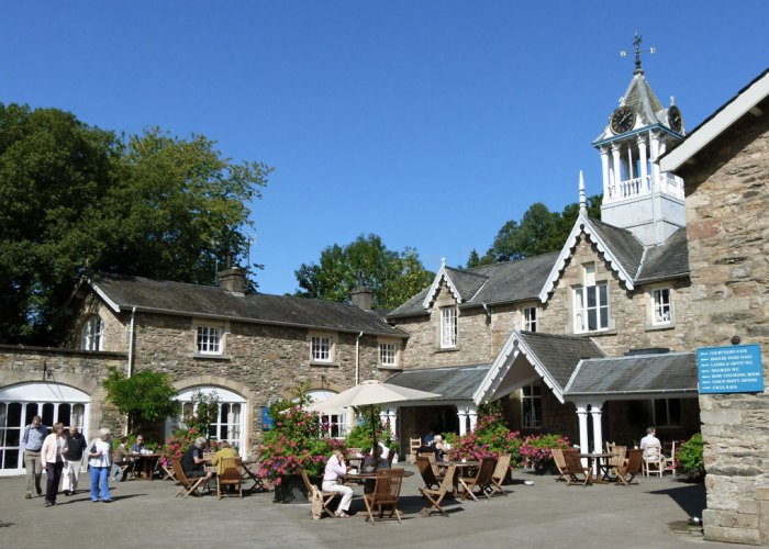 Holker Hall, restaurant