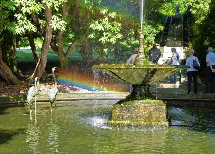 Holker, fountain, Neptune Cascade