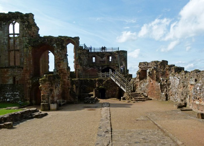 Kitchens, Kenilworth Castle