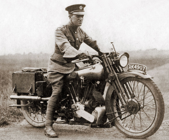Lawrence, Brough Superior