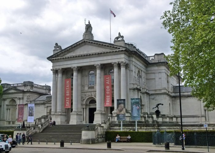 Tate Britain, Free entry, London