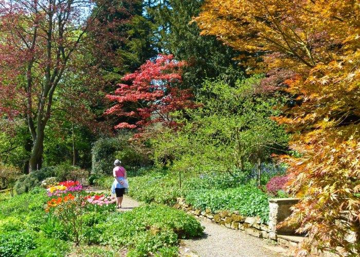 Constable Burton Hall garden, Yorkshire