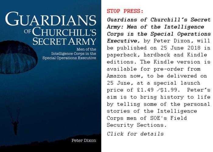 Guardians of Churchill's Secret Army, Peter Dixon