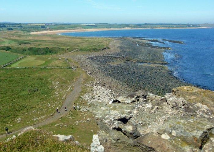 Embleton Bay, Dunstanburgh, Northumbrian coast