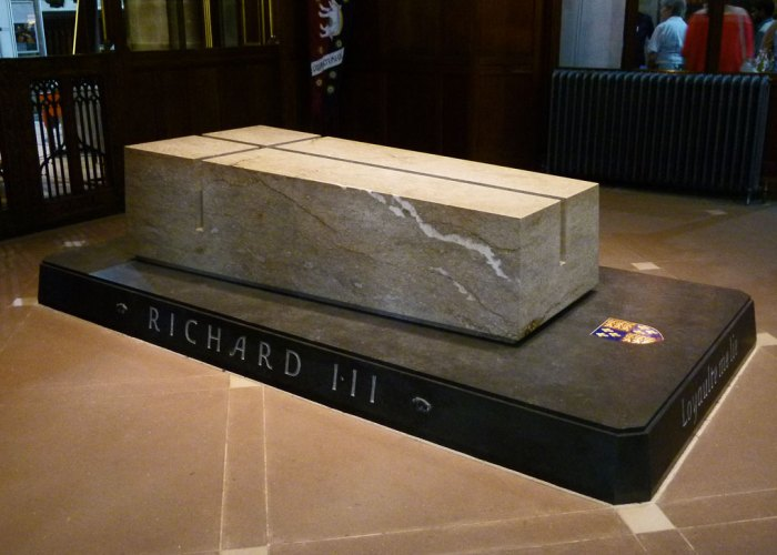 Richard III, tomb, Leicester Cathedral