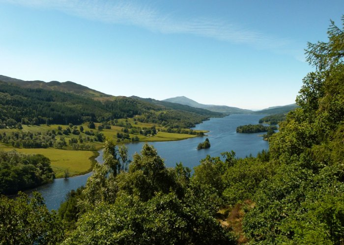 Queen's View, Perthshire, visit Scotland