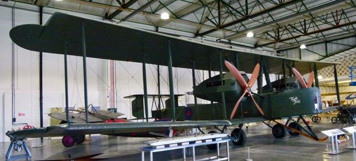Vickers Vimy, RAF, Biggles