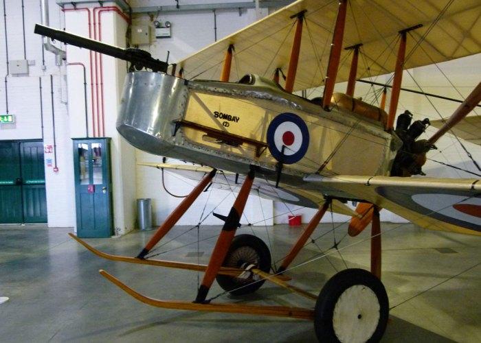 Vickers Gunbus, RAF, Biggles