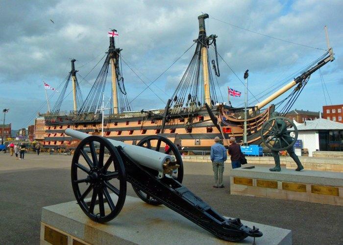 HMS Victory, visit Portsmouth, Dockyard