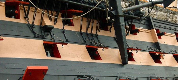 HMS Victory, gunship, Royal Navy