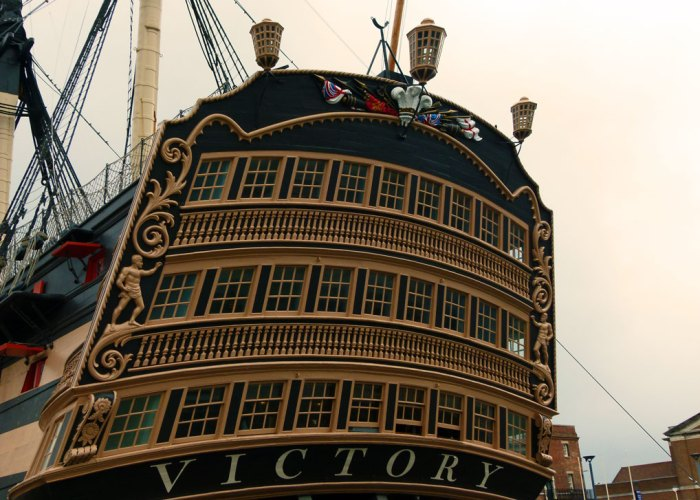 HMS Victory, stern view