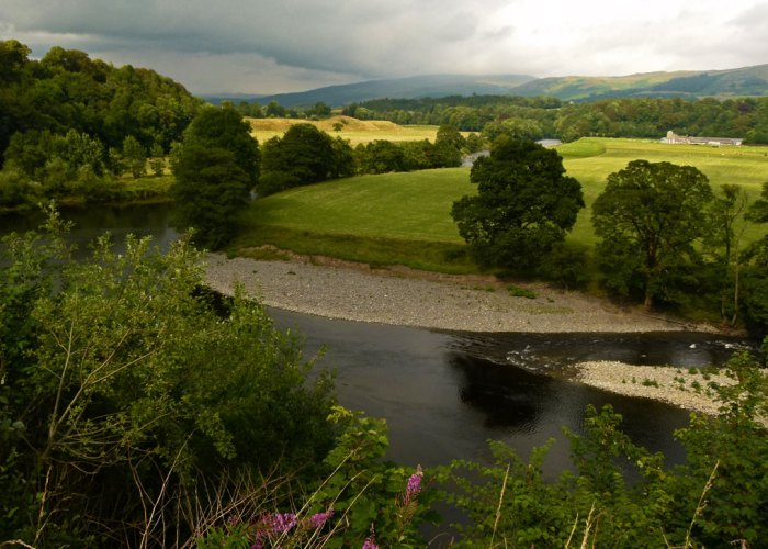 Ruskins View, Kirkby Lonsdale, Cumbria