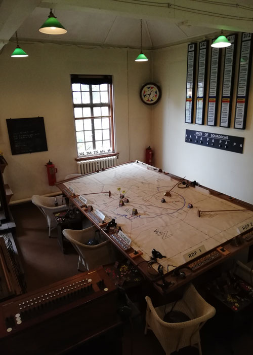 Battle of Britain, operations room, Duxford