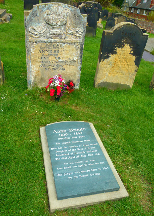 Anne Brontë', grave, Scarborough