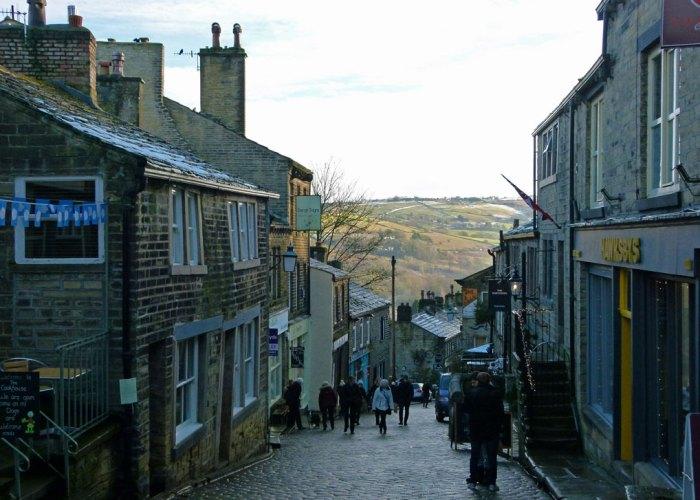 Haworth - the hill