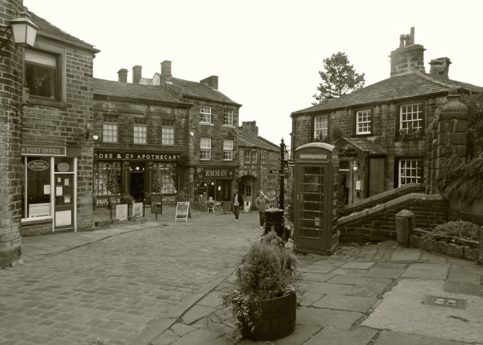 Haworth, Cabinet of Curiosities, Rose & Co, Apothecary
