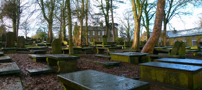 Our Brontë tour begins in Haworth