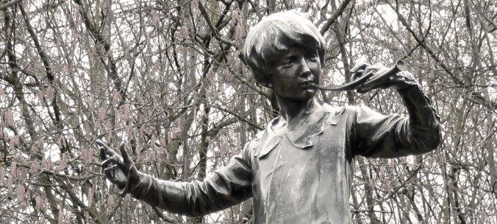 Peter Pan, statue, London, Kensington Gardens
