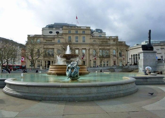 Trafalgar Square, Canada House, 4th plinth