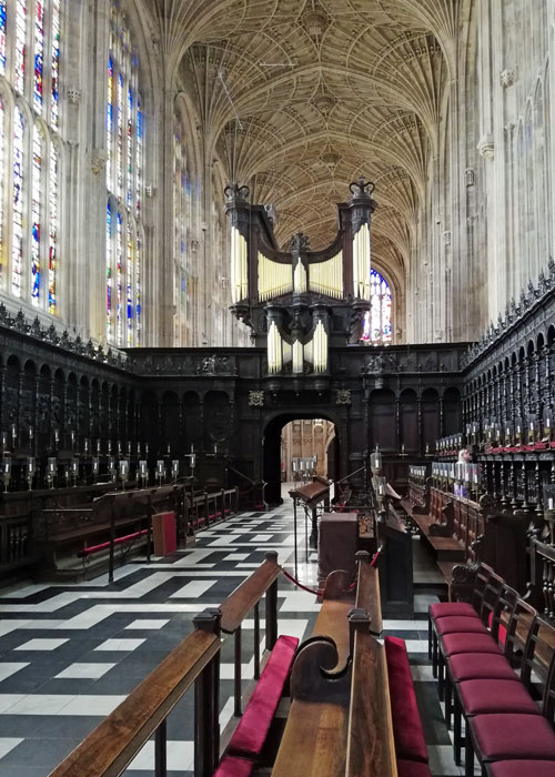 King's College Chapel, choir