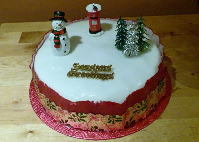 Christmas, Britain, Christmas cake