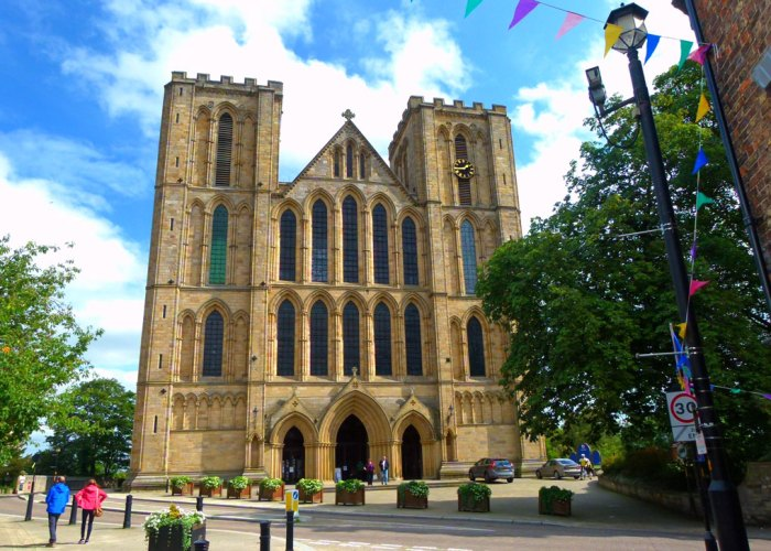 Ripon Cathedral, west end