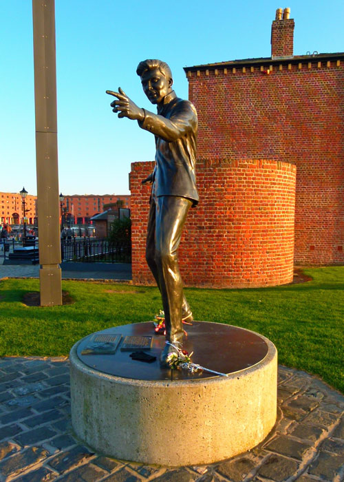 Billy Fury, statue, memorial