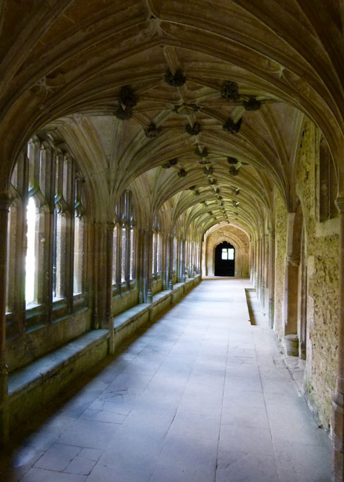 Harry Potter, film locations, Lacock Abbey