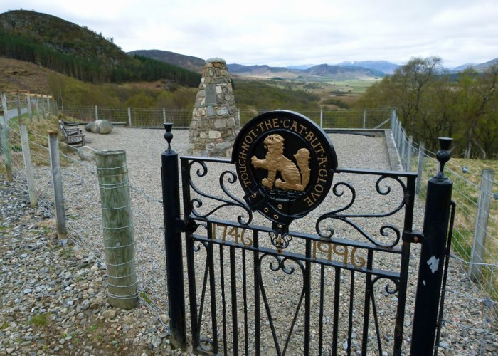Macpherson Memorial, Glentruim, Highlands