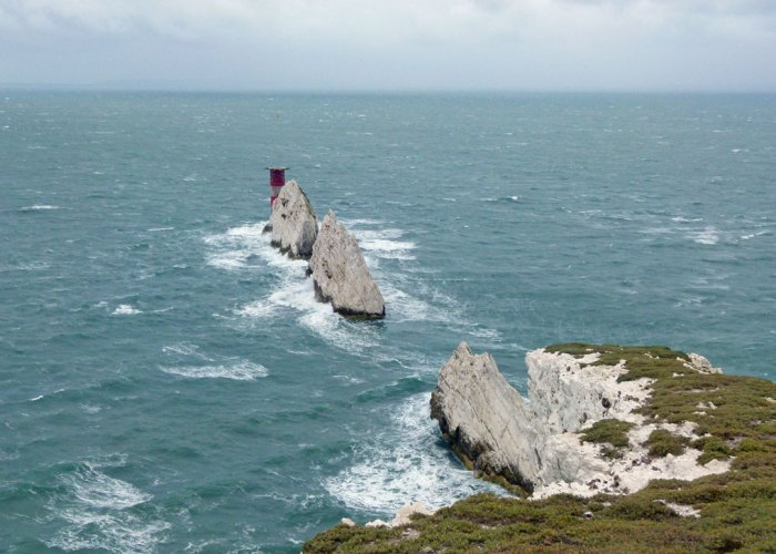The Needles, lighthouse, Isle of Wight
