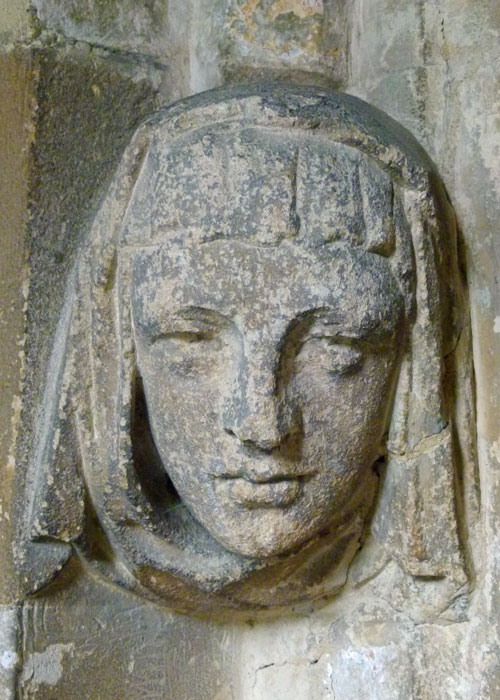 St Cyriac, Lacock, medieval carving