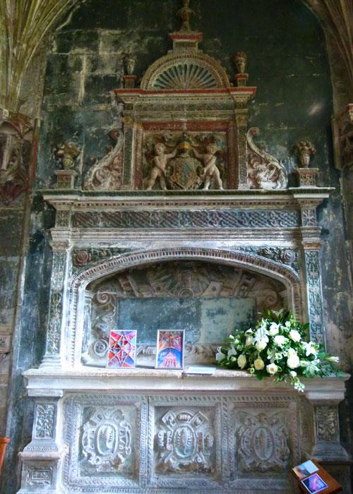 St Cyriac, Lacock, William Sharington, memorial