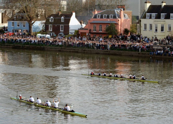 The Boat Race, events in Britain