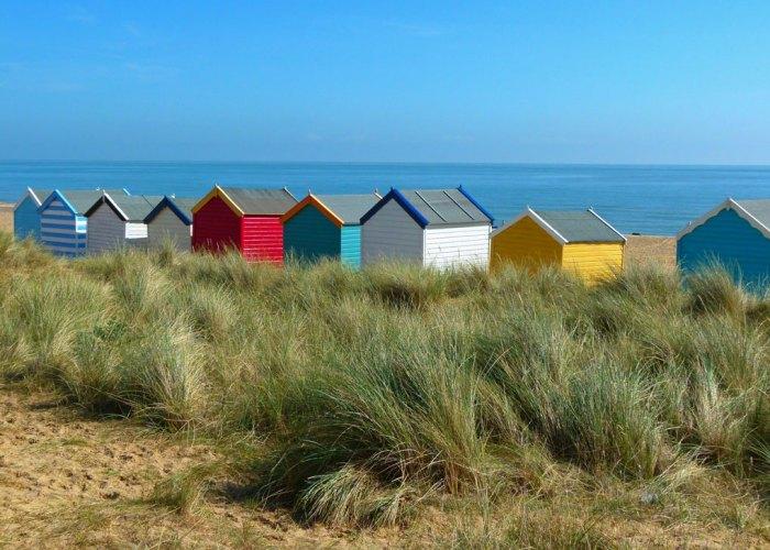 Southwold, visit Suffolk, beach huts