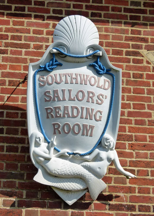 Southwold, sailors reading room