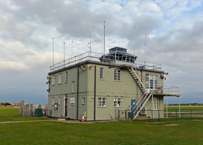 Duxford's Control Tower