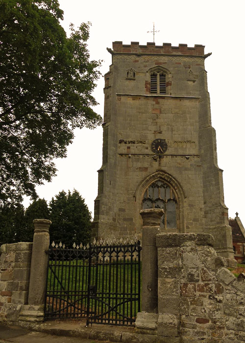 St Andrews, Wroxeter
