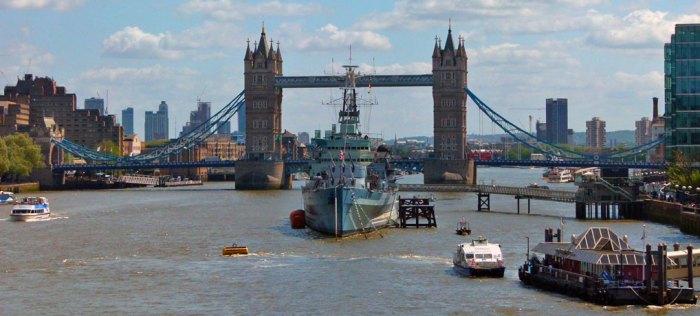 Tower Bridge, HMS Belfast