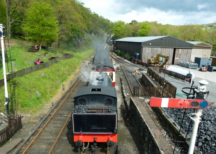 Haverthwaite, heritage railway, Lake District