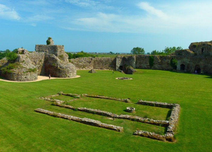 Pevensey Castle, visit Sussex