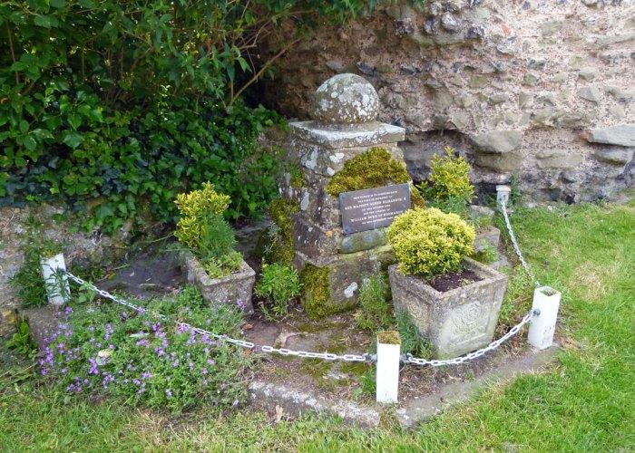William the Conqueror landed at Pevensey