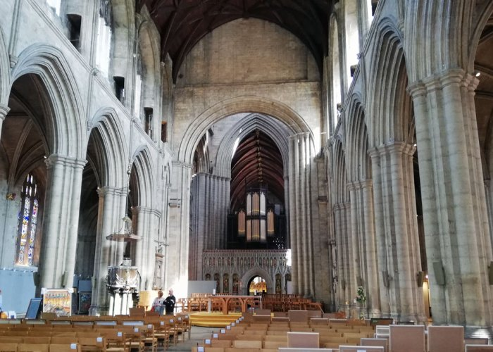 Ripon Cathedral, Nave
