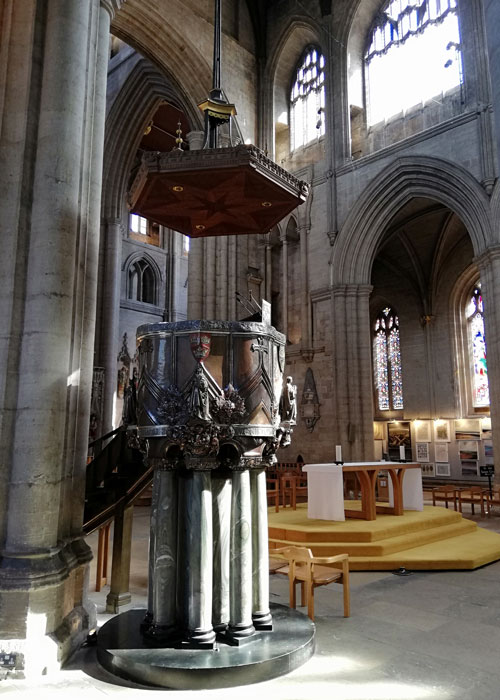 Pulpit, Ripon